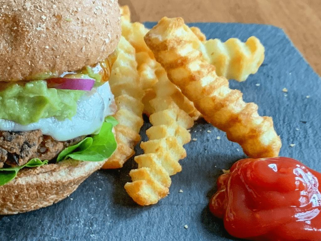 Black Bean Burgers Vegetarian
