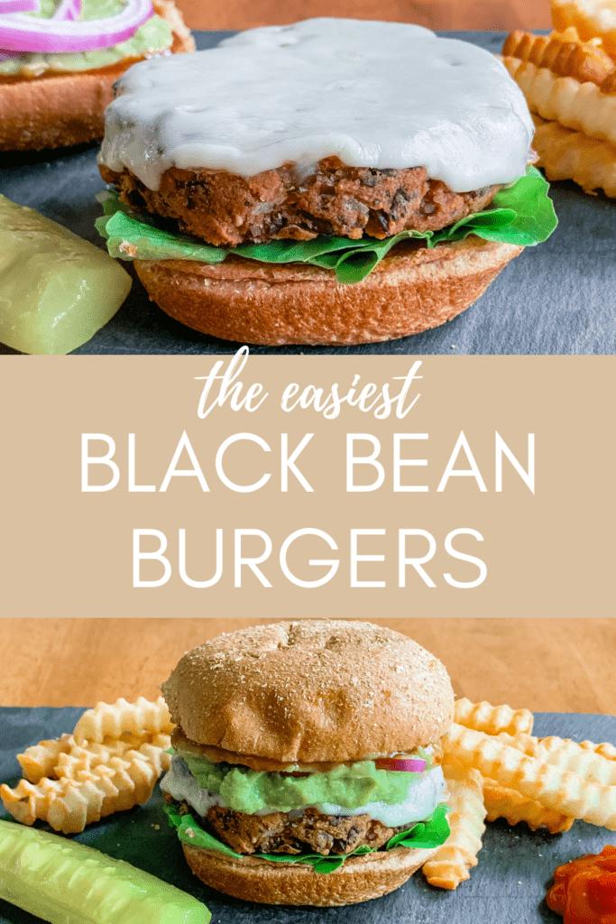 Healthy Vegetarian Black Bean Burgers