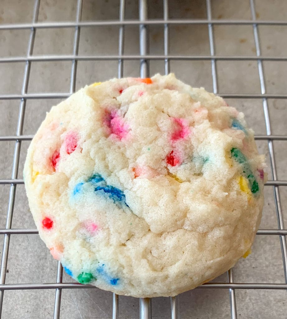 Baked Funfetti Cookie
