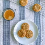 Coffee and Peanut Butter Cookies