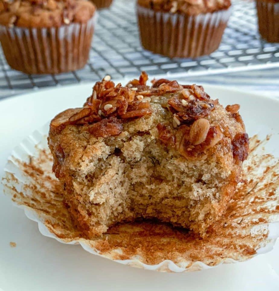 Eaten muffin