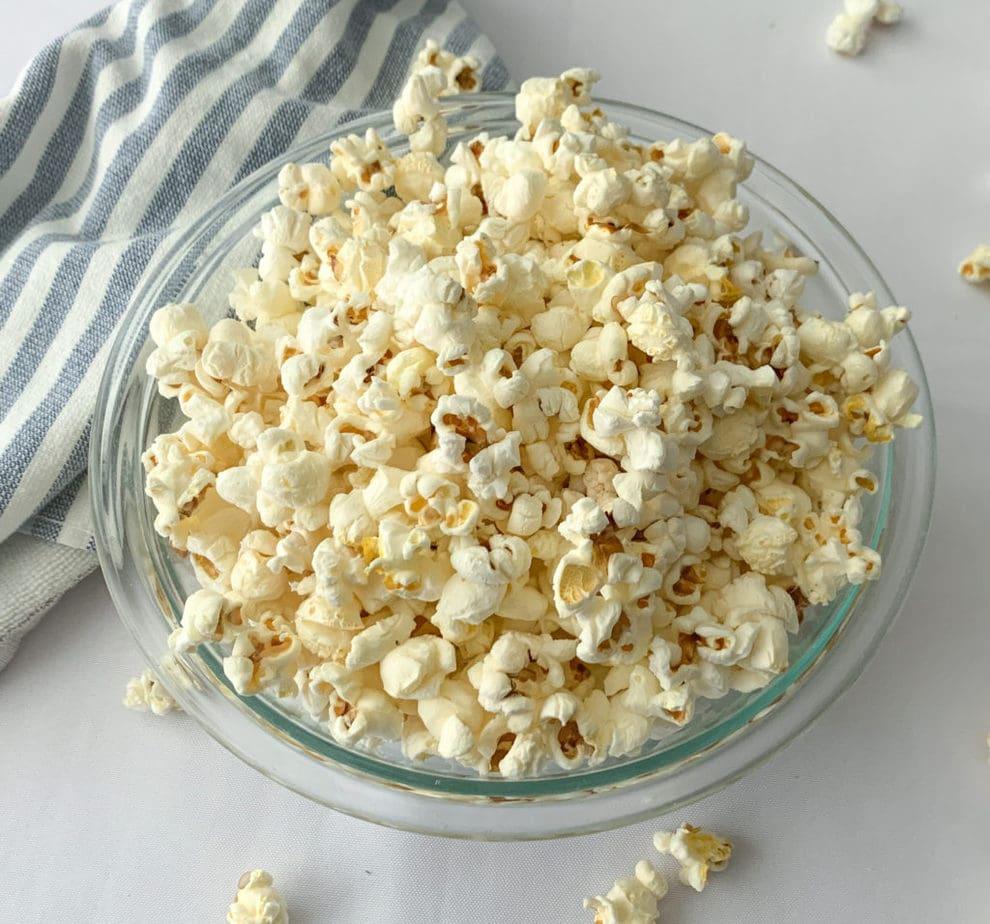 Crunchy Popped Popcorn