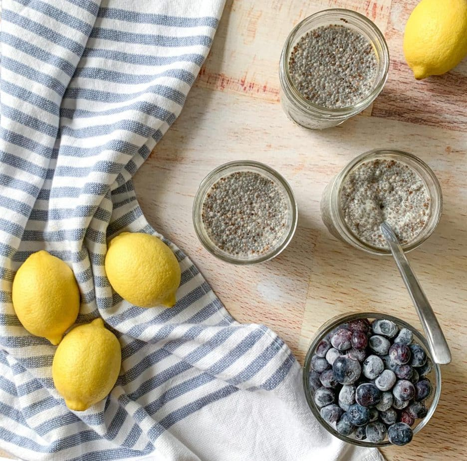 Blueberry Lemon Chia Seed Pudding is so versatile and easy to make!