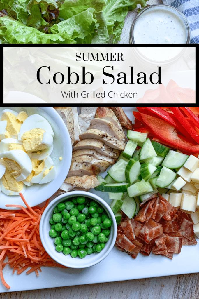 Fresh Easy Summer Cobb Salad Recipe with Chicken