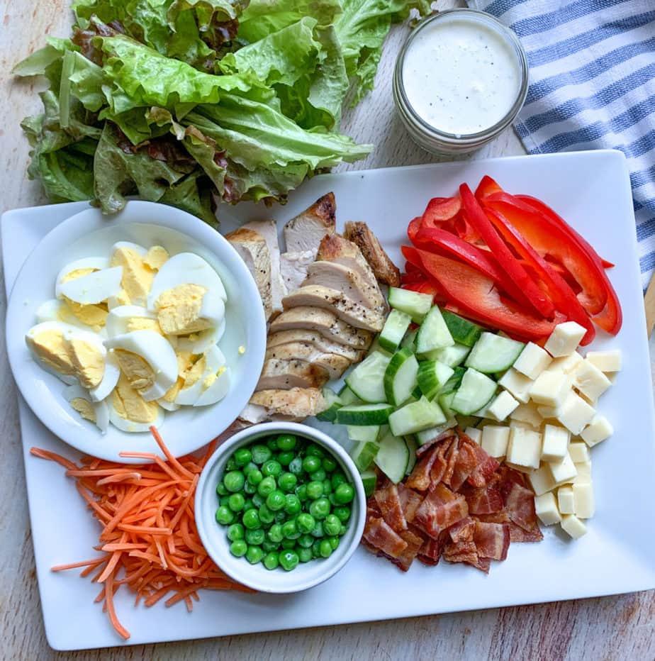 Delicious Chicken Cobb Salad