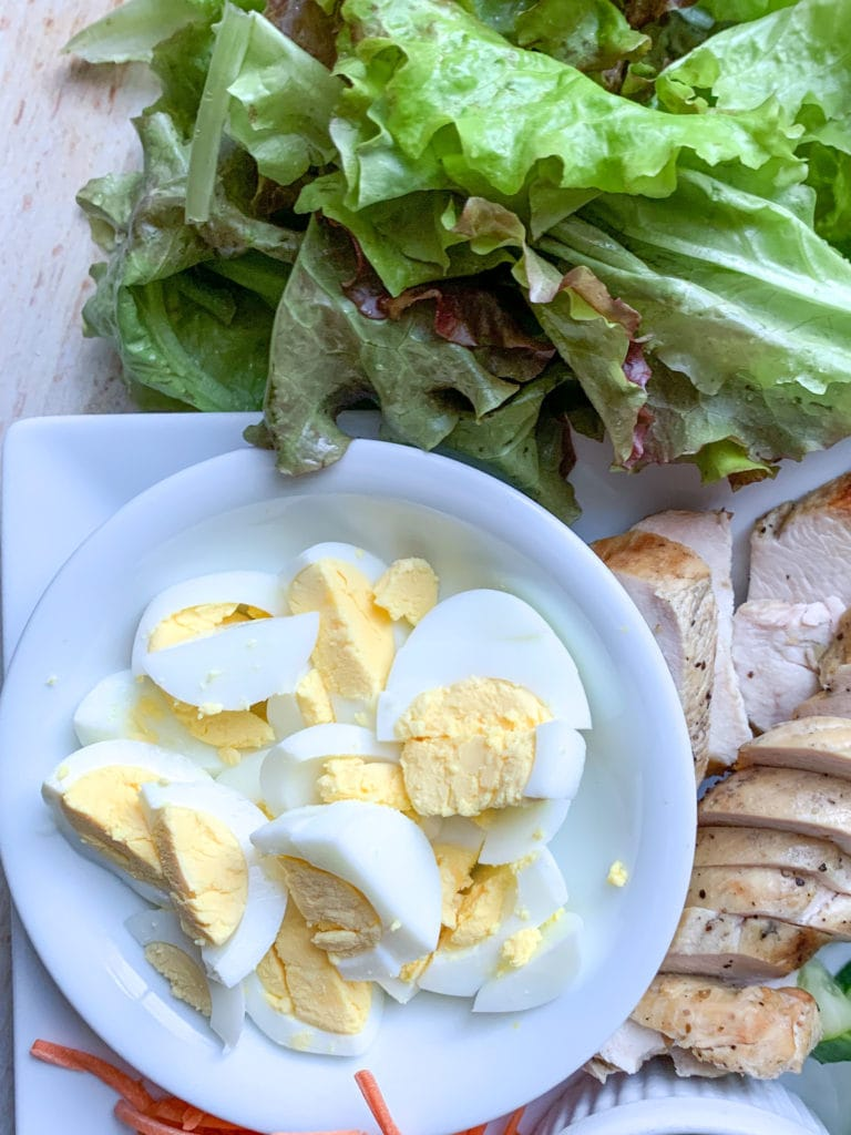 Fresh Hard Boiled Eggs