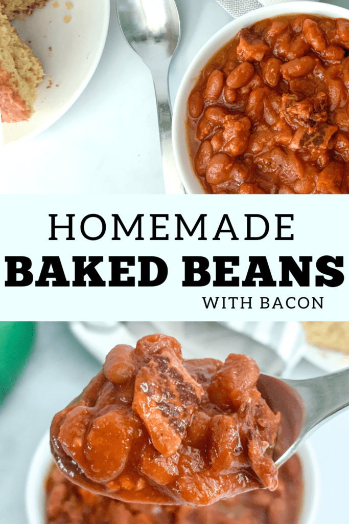 The Best Homemade Baked Beans with Bacon Recipe For Pinterest