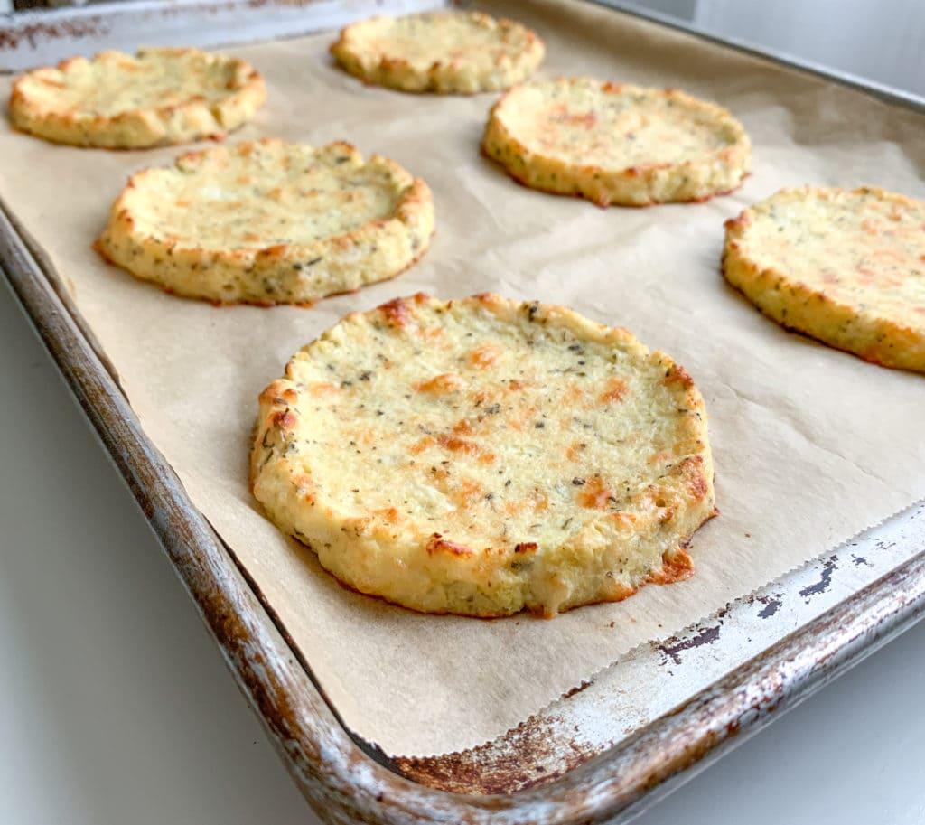 Golden Brown Cauliflower Crust