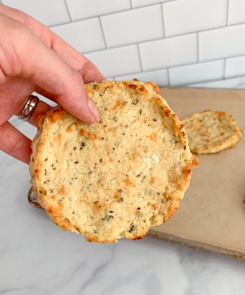 Cauliflower Pizza Crust That Won't Fall Apart