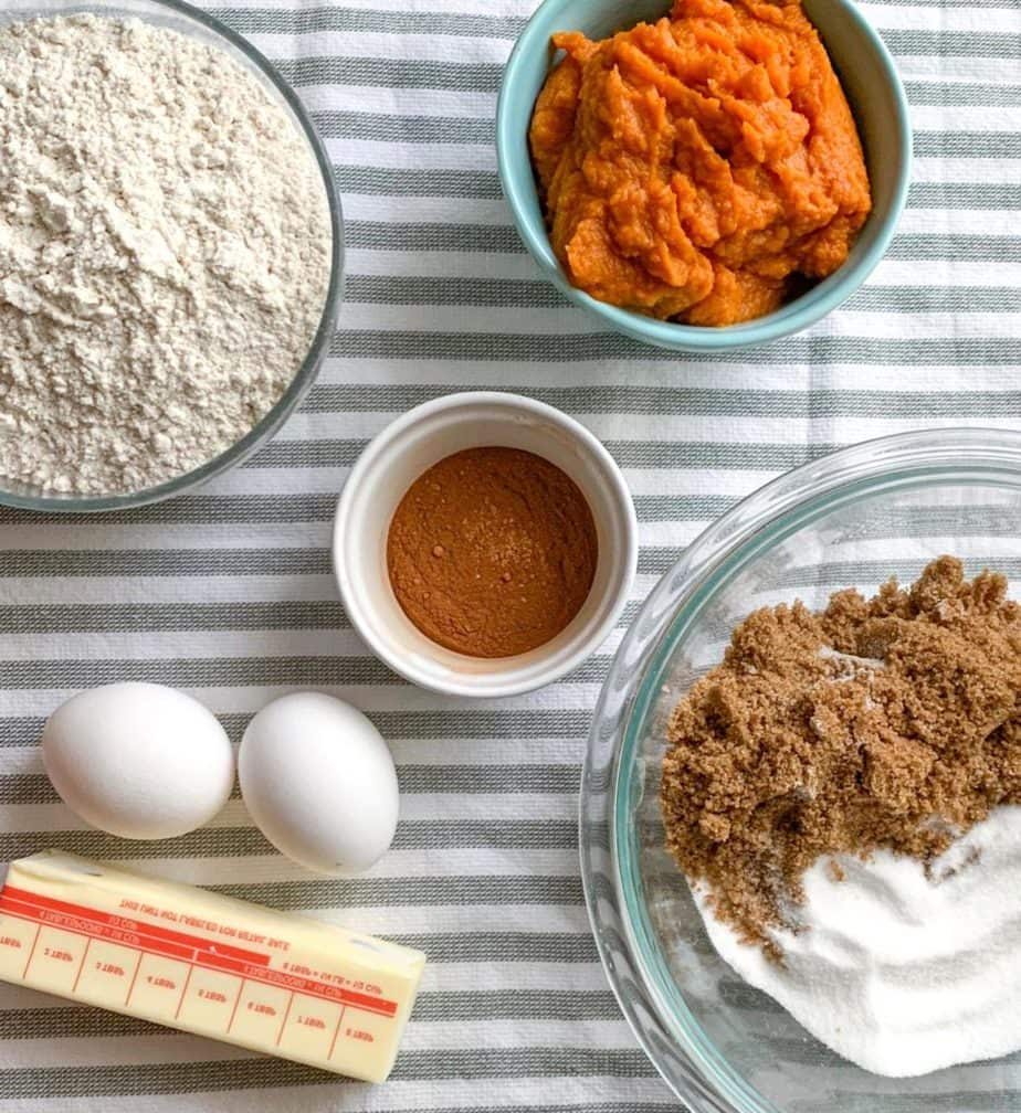 How to make Downeast Maine Pumpkin Bread-Ingredients you'll need