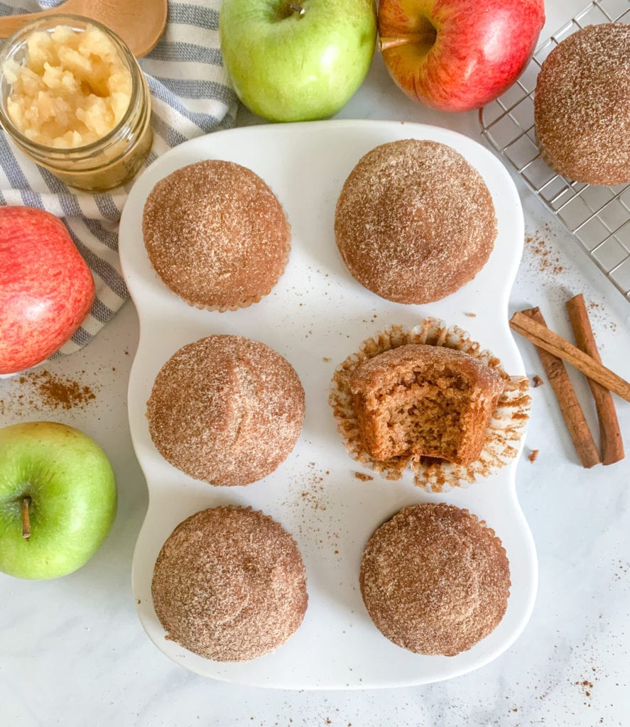 Are applesauce donut muffins healthy?