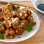 Crispy Pan Fried Tofu Tossed In Hoisin Sauce