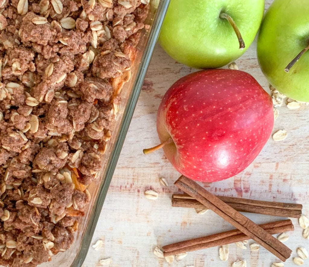 The best apples to use in an apple crisp.