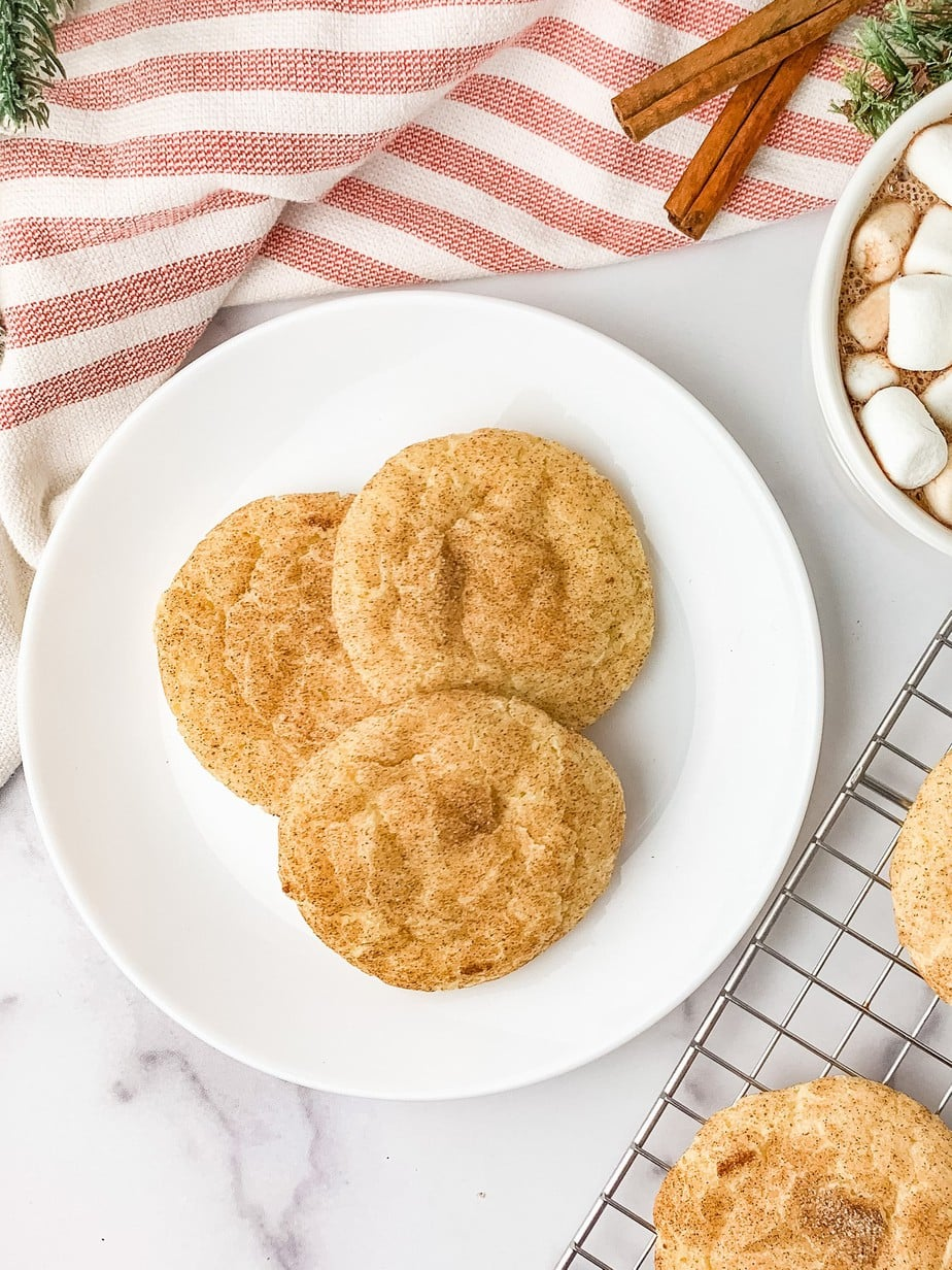 Chewy Snickerdoodles Without Cream Of Tartar Barefoot In The Pines