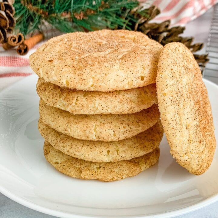 Chewy Snickerdoodles Recipe Without Cream of Tartar