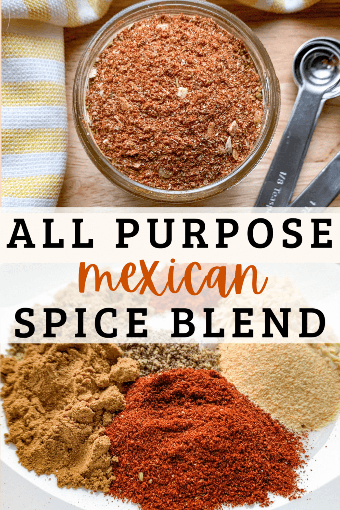 Replace Taco Seasoning, Fajita Seasoning, and blackening spice with this one Mexican Spice Blend