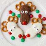 Peanut Butter Reindeer Nutter Butter Cookies