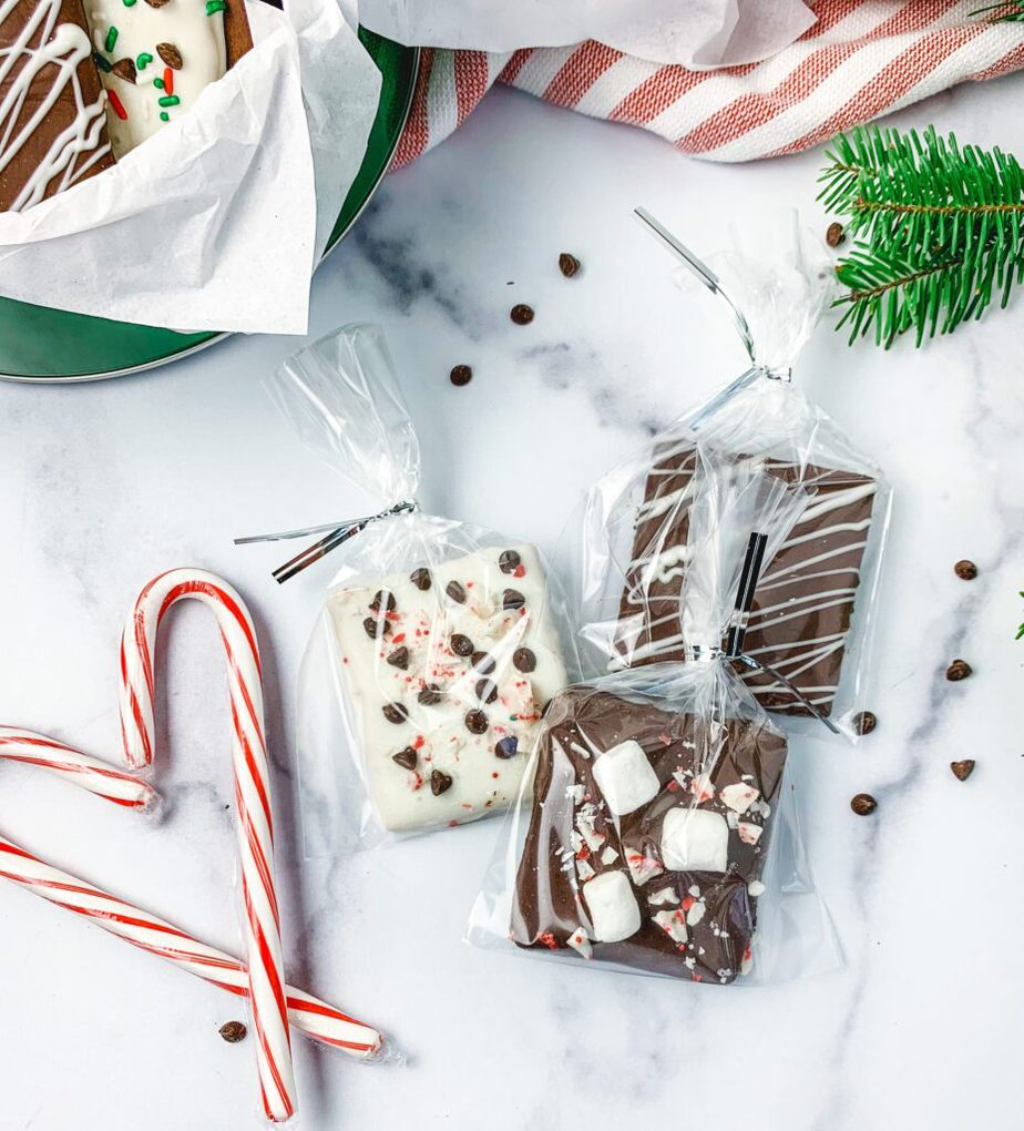Chocolate Covered Graham Crackers Make a Great Gift