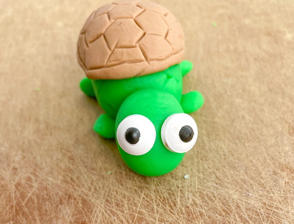 Under The Sea Cake- Fondant Turtle