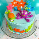 Under The Sea Birthday Cake For Boys or Girls