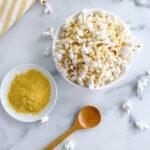 Healthy Nutritional Yeast Popcorn Seasoning