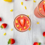 Refreshing Strawberry Pineapple Smoothie with Cayenne