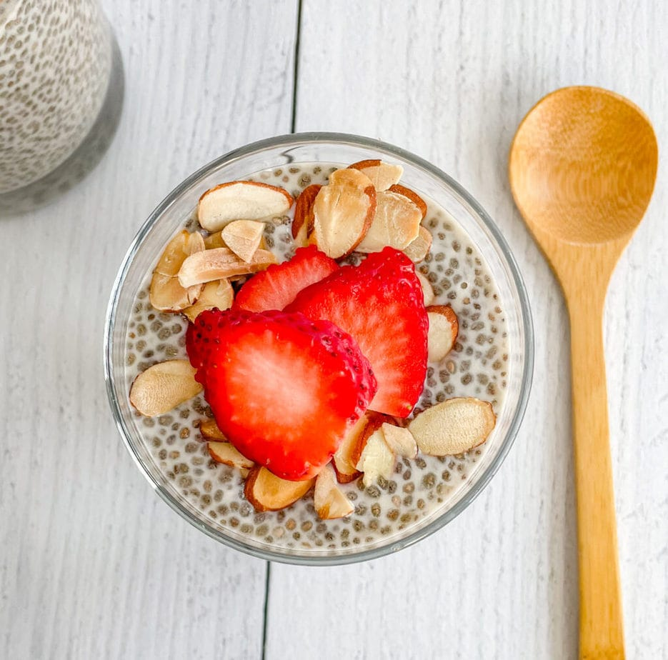 Naturally Sweetened With Maple Syrup Vanilla Chia Seed Breakfast Pudding