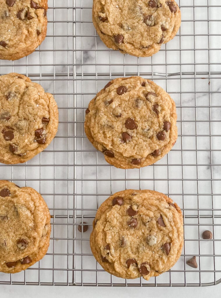 Dairy Free Egg Free Chocolate Chip Cookies