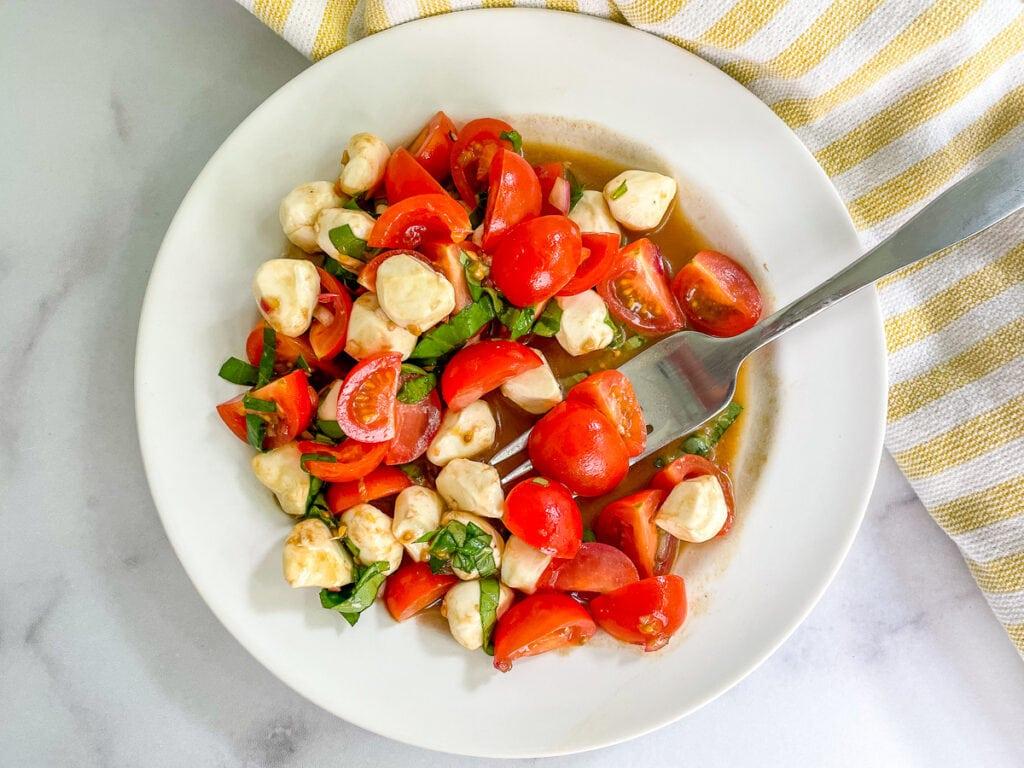 Cherry Tomato Salad for Dinner