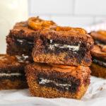 Cookie Dough Oreo Brownies (Slutty Brownies)