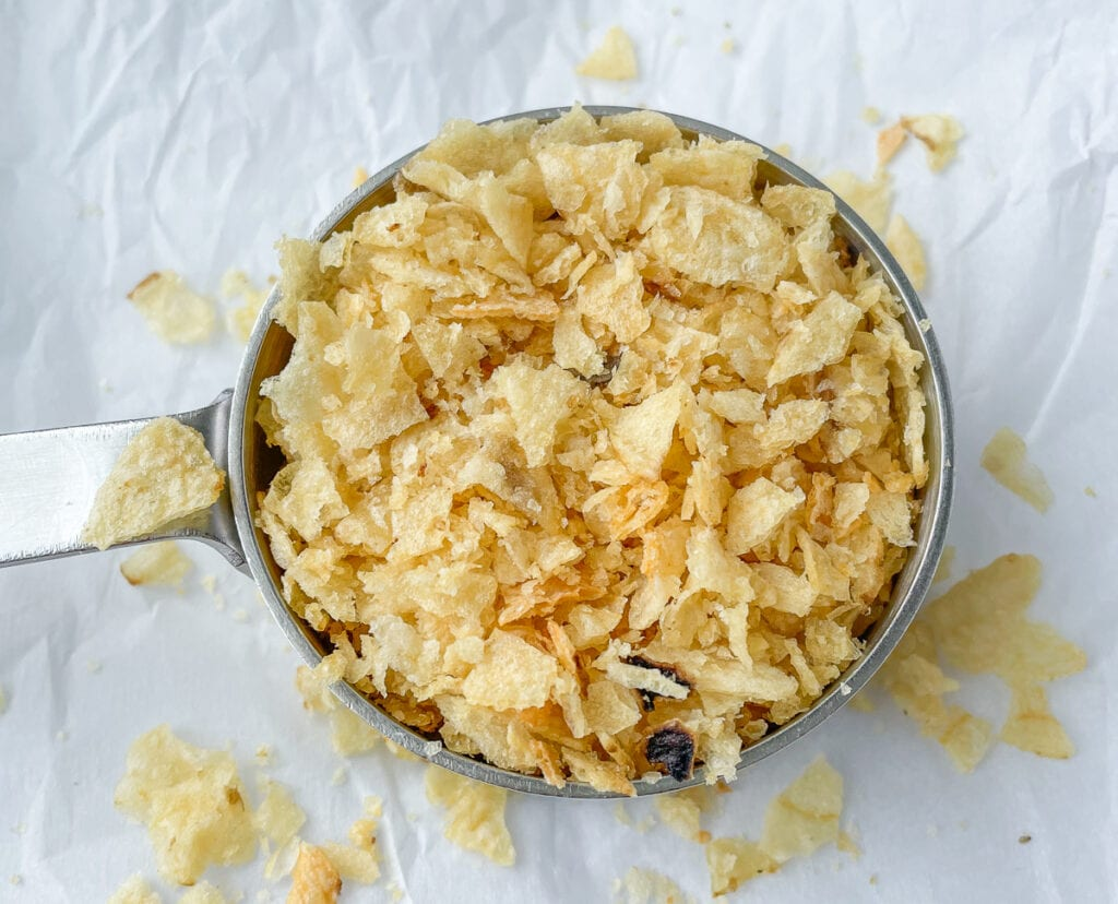 Finely Crushed Potato Chips