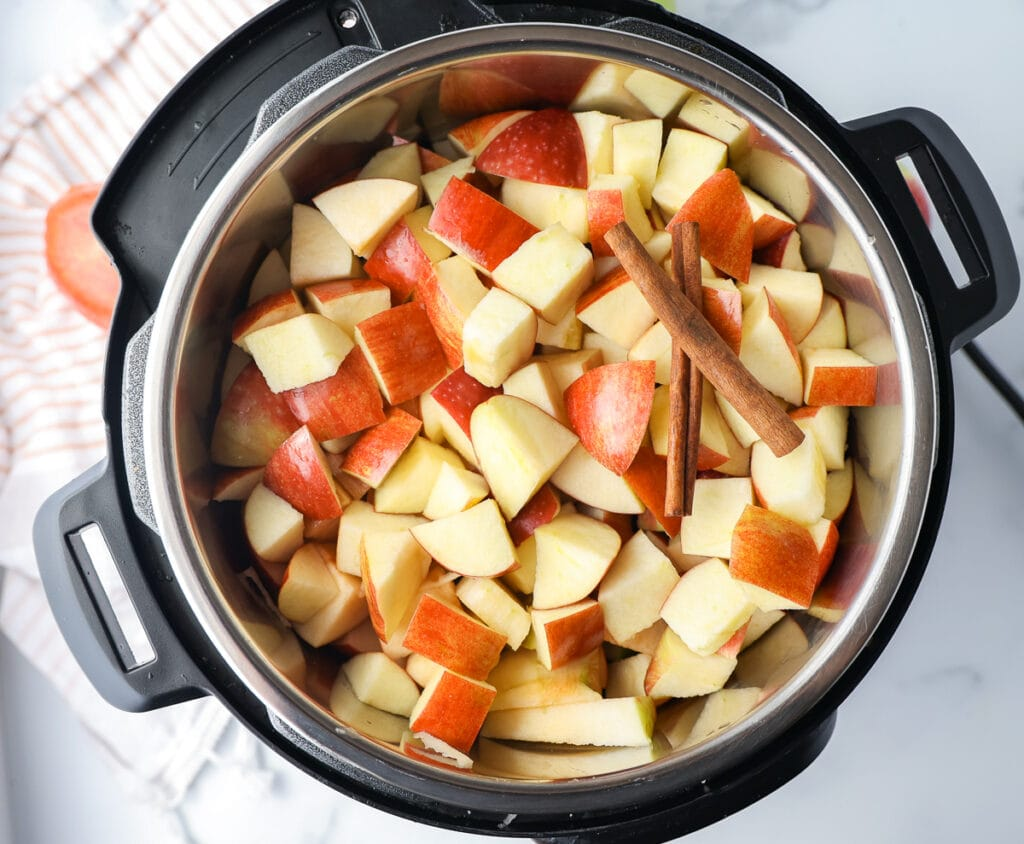 How to make apple butter in the Instant Pot