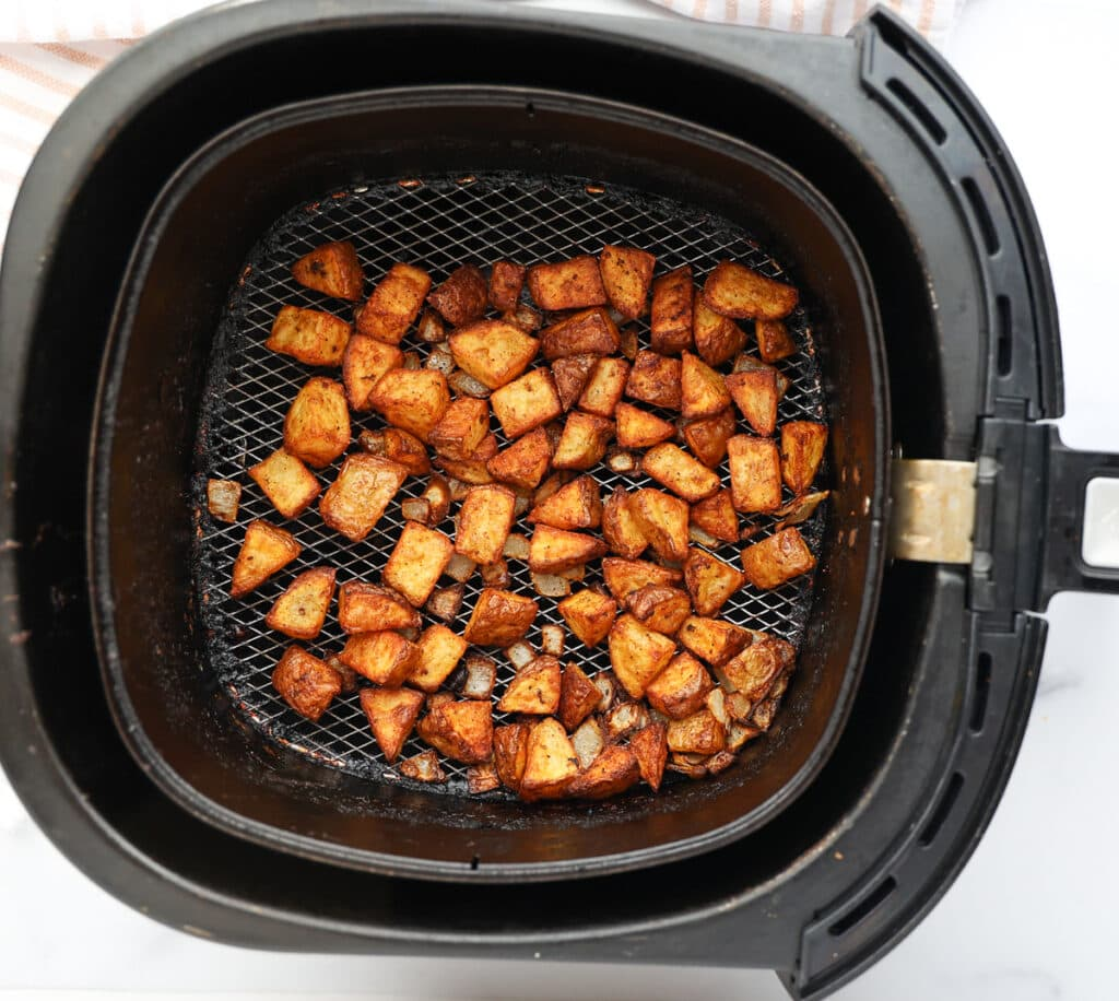 How to make home fries in the air fryer